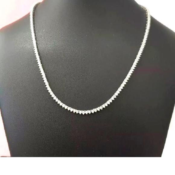 Eternity Tennis Diamond Necklace